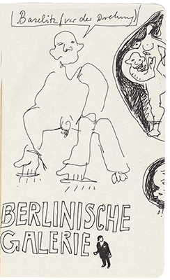 Reiseskizzenbuch Berlin