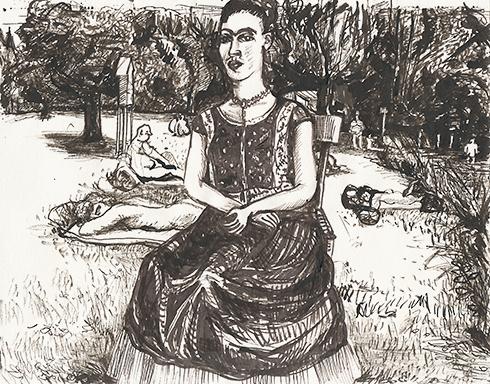 Frida am Birkensee